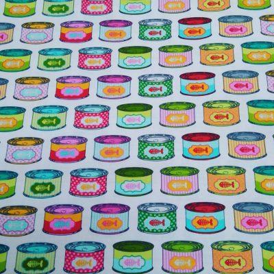 Tela de patchwork americano Taby road tula pink pukymuky