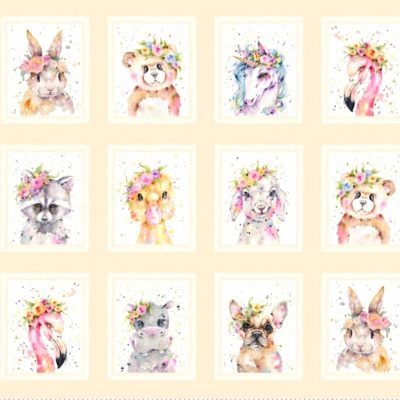 panel de animales little darling