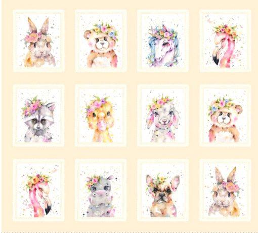 panel de animales little darling