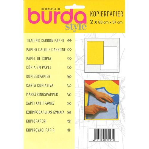 Papel de calco para costura