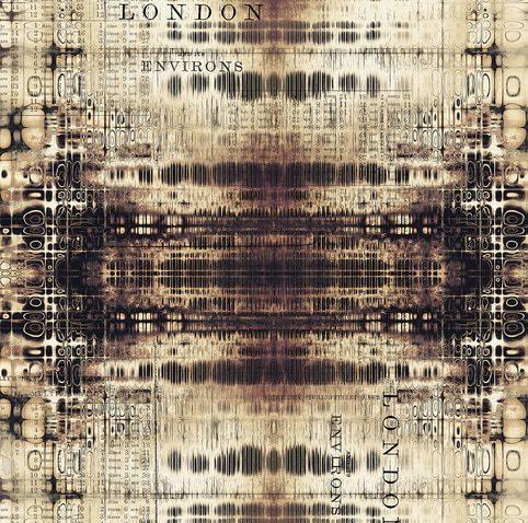 Tela de patchwork americano London Gridlock