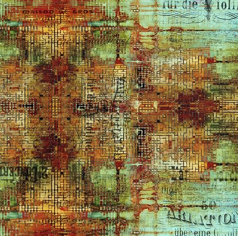 Tela de patchwork Tim Holtz