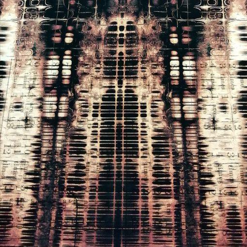 Tela de Tim Holtz, americana de patchwork , Gridlock
