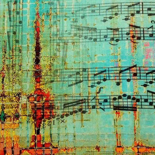 Tela Rusted Patina, de Tim Holtz, algodón americano