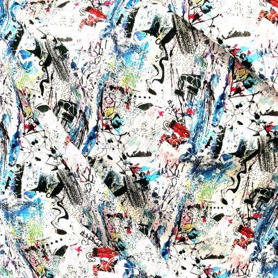 tela americana de graffiti