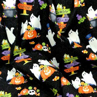 Tela de Halloween